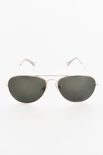 Basic Aviator Sunglasses (Gold)
