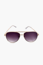 Bright Side Aviator Sunglasses (Gold)