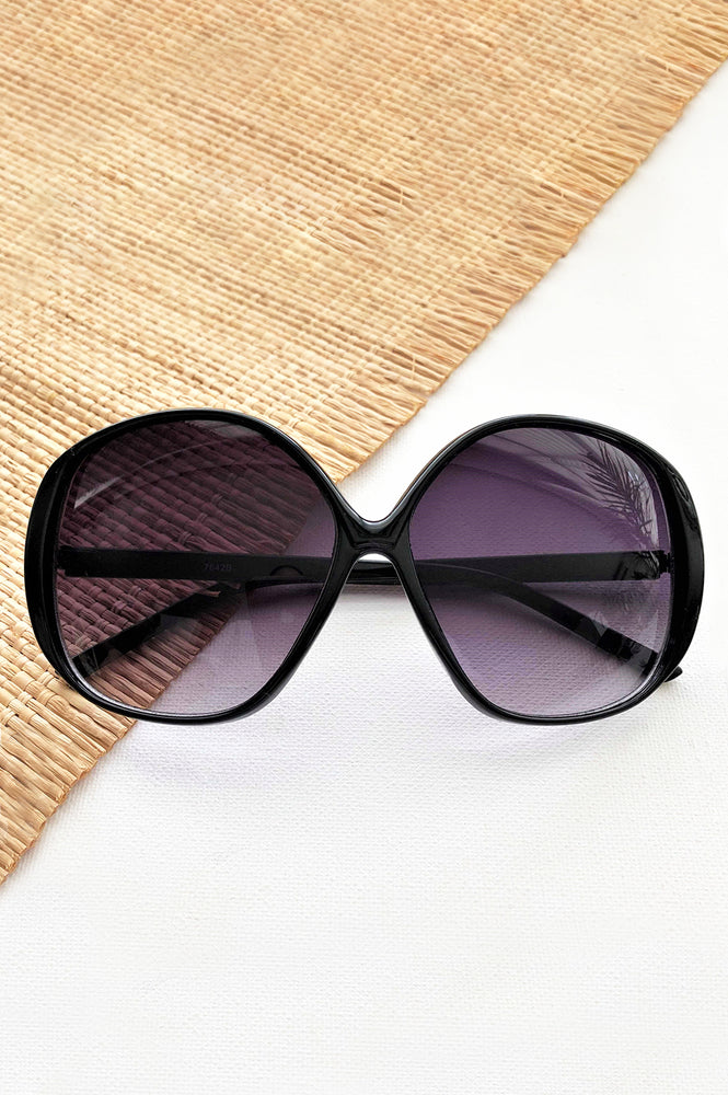 Mia Fashion Sunglasses (Black)