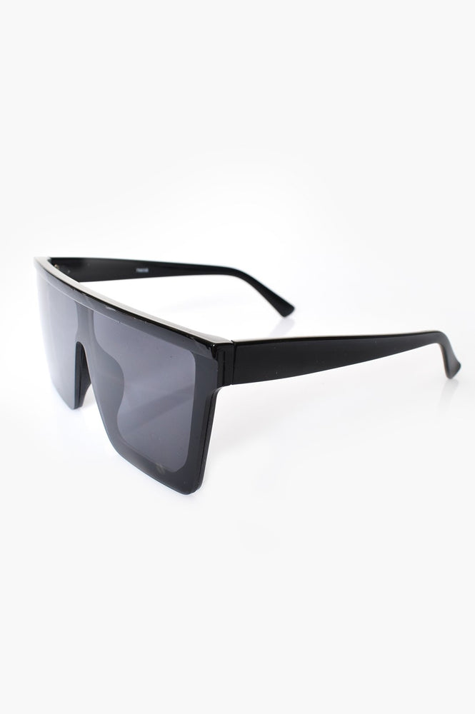 Margaux Square Sunglasses (Black)