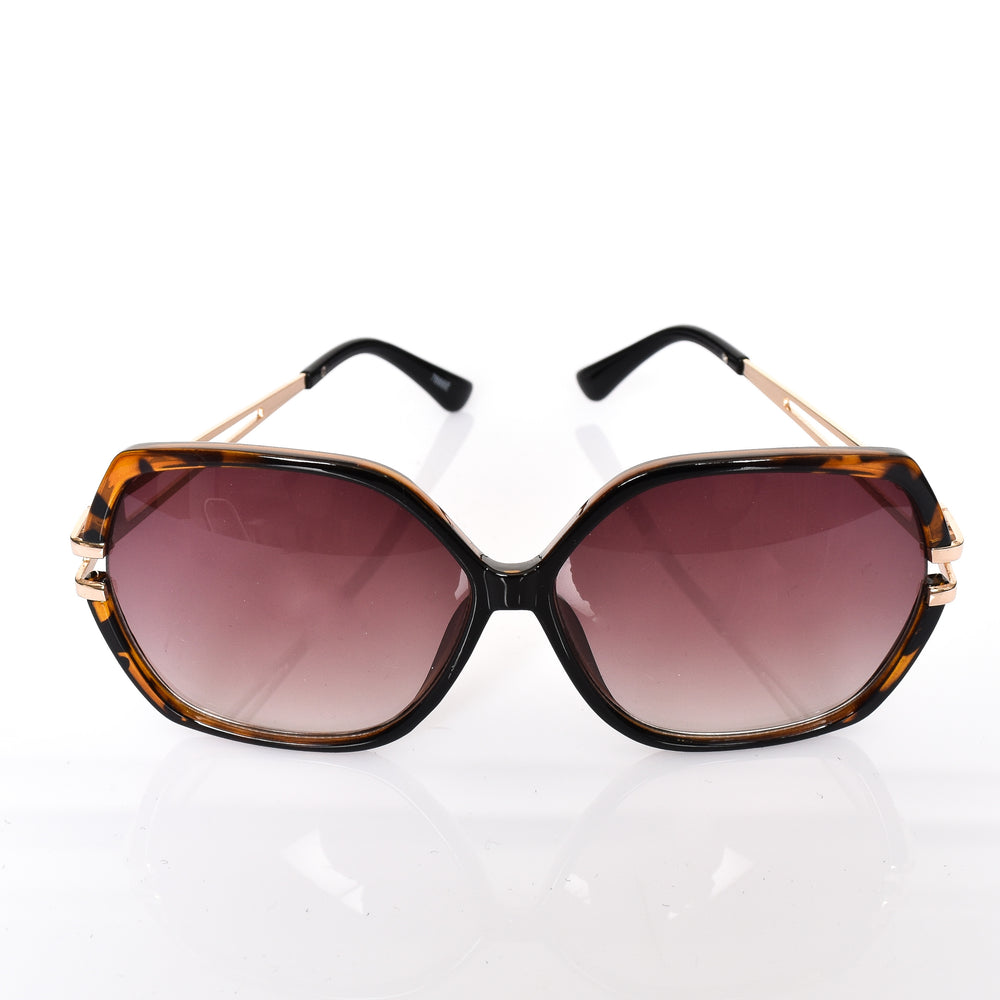 Fantasia Oversized Sunglasses (Black/Tort)