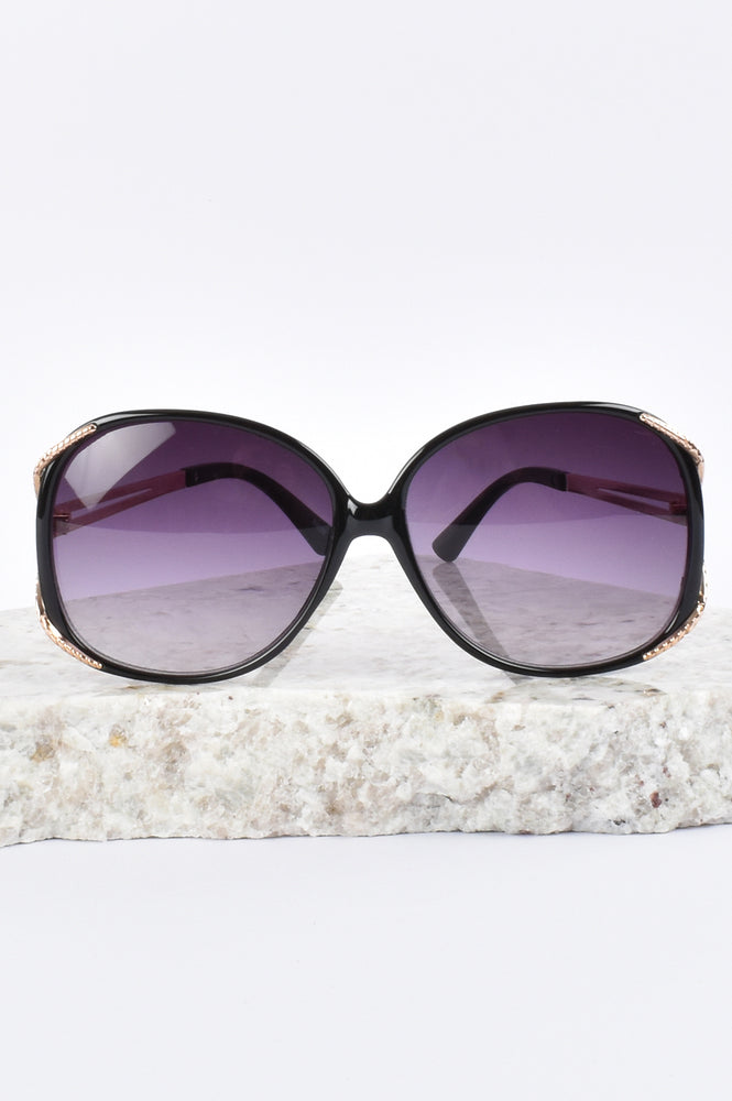 Goldie Fashion Sunglasses (Black)
