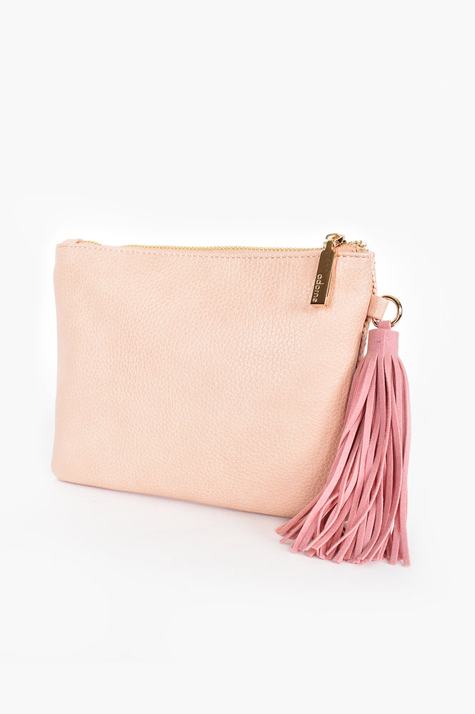 Weave Front Pouch (Pink)