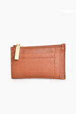 Maddie Card & Coin Purse (Tan)