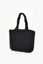 Cord Weave Small Basket (Black)