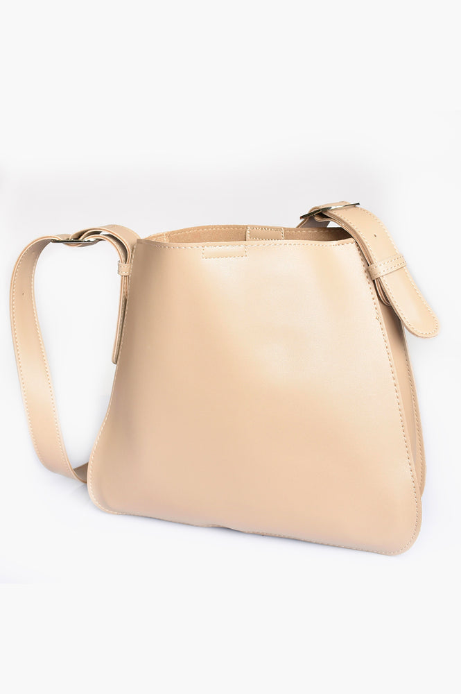 Belted Strap Everyday Bag (Mocha)