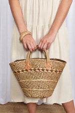 Saturday Woven Basket (Chocolate)