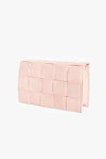 Wide Plait Small Bag (Pink)