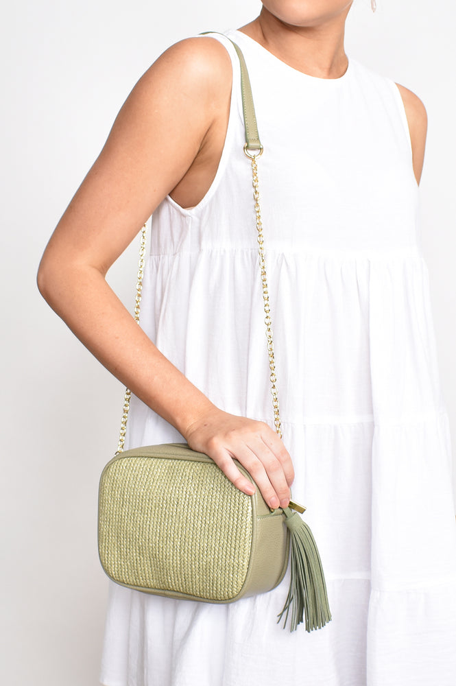 Weave Camera Bag (Green)
