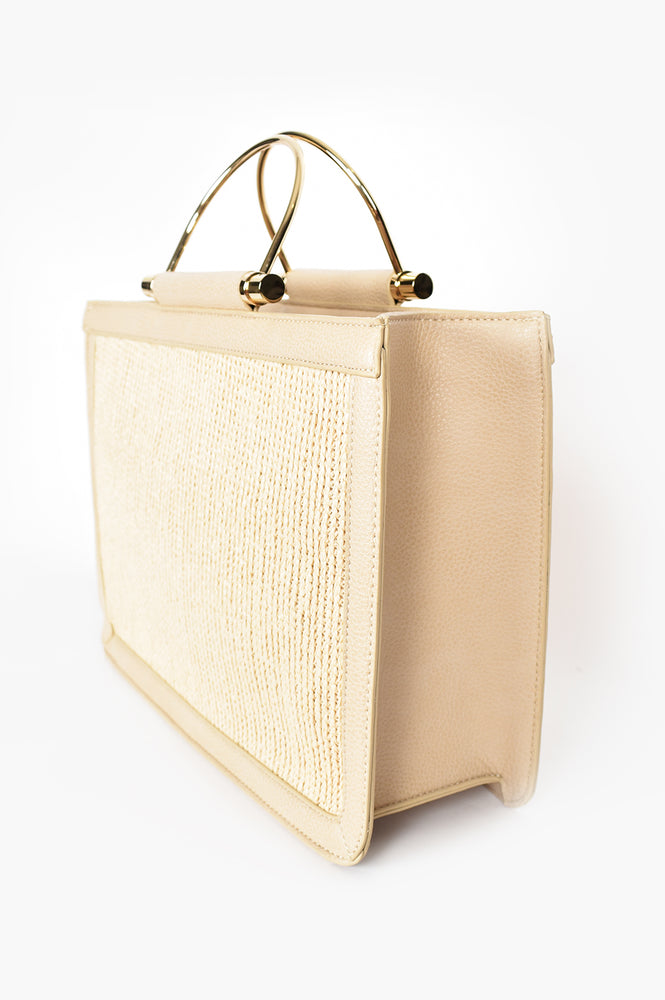 Weave Centre Tote (Natural)