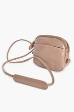 Knot Detail Pocket Front Curve Bag (Nude)
