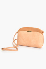 Cynthia Curved Top Crossbody Bag (Came)