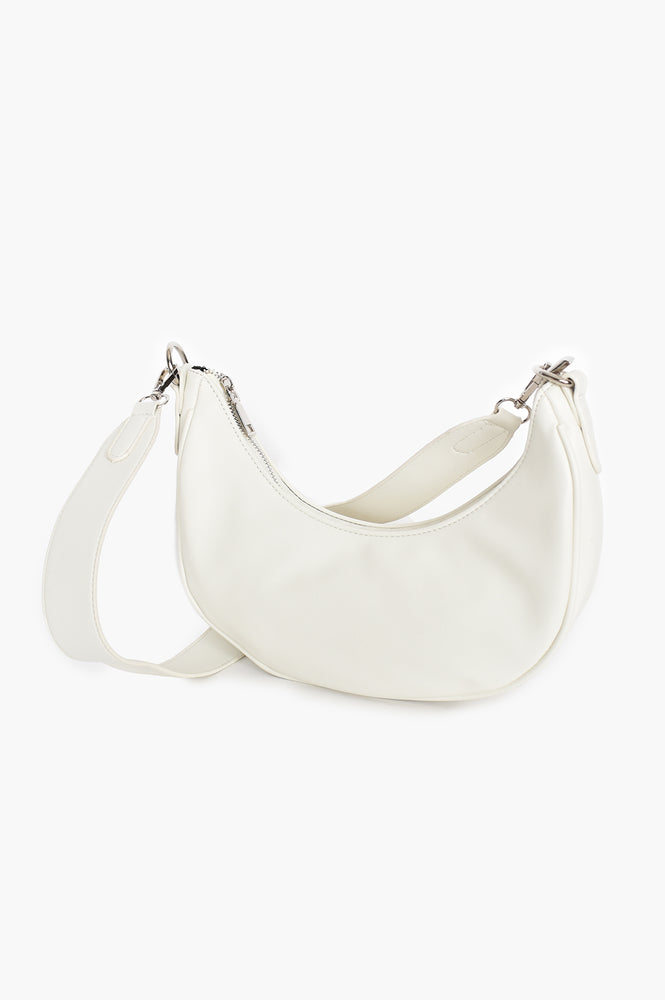 Curved Everyday Bag (White)