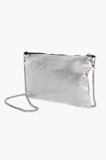 Chain Mesh Small Bag (Silver)
