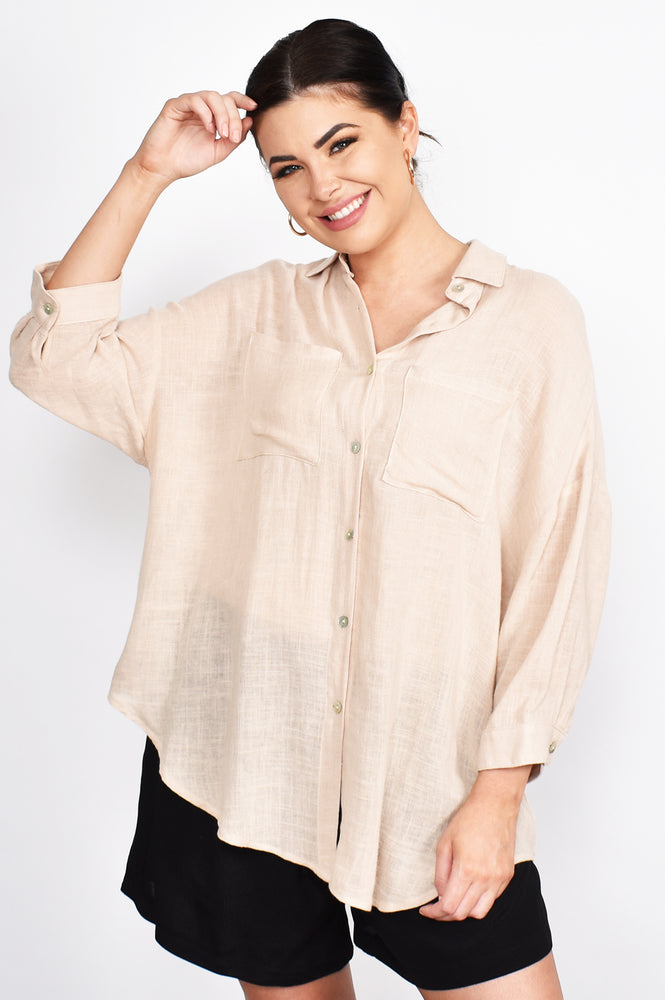 Lauren Shirt (Nude)