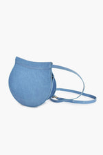 Croc Small Saddle Bag (Blue)