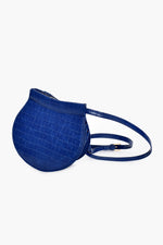 Croc Small Saddle Bag (Navy)
