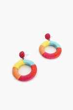Cotton Wound Summer Earrings (Multi)