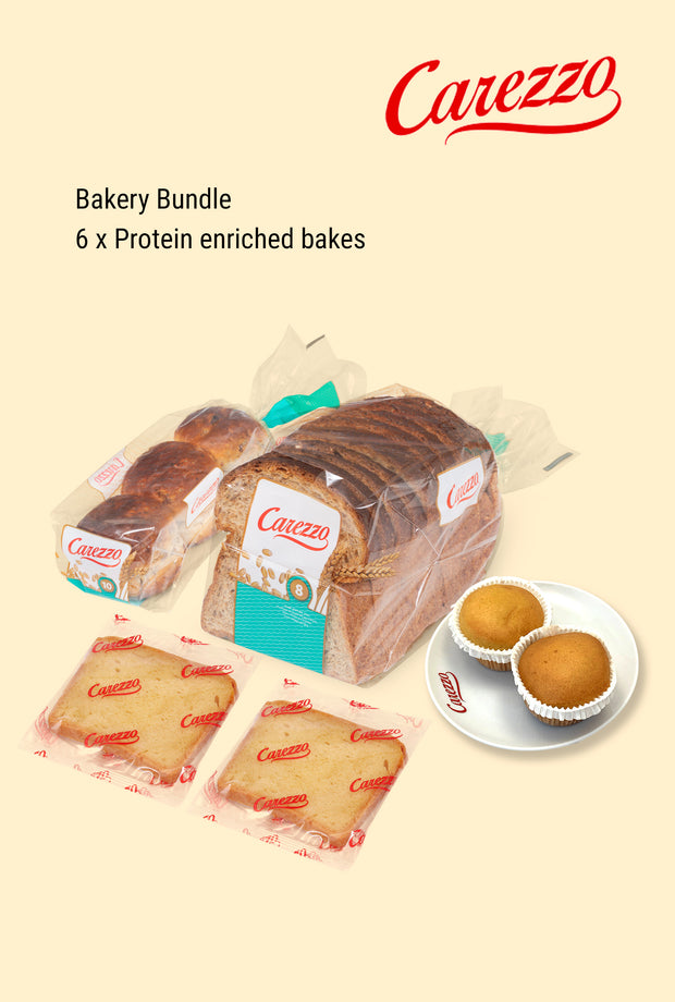 Carezzo Protein Enriched Bakery Bundle