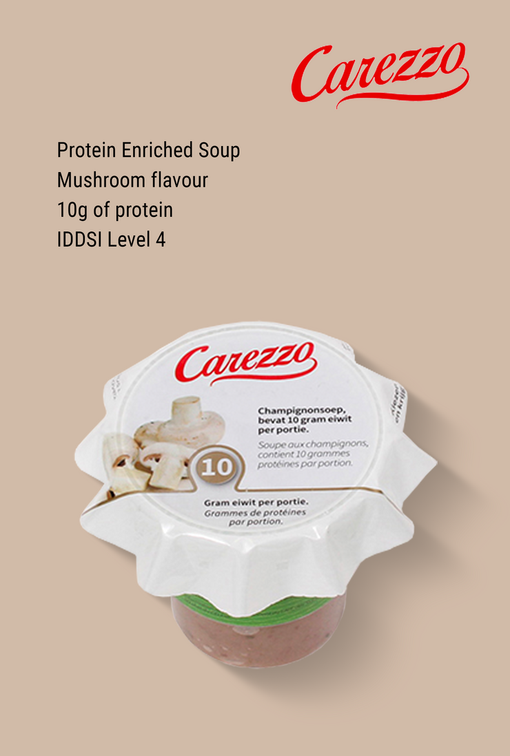 Carezzo Protein Enriched Mushroom Soup