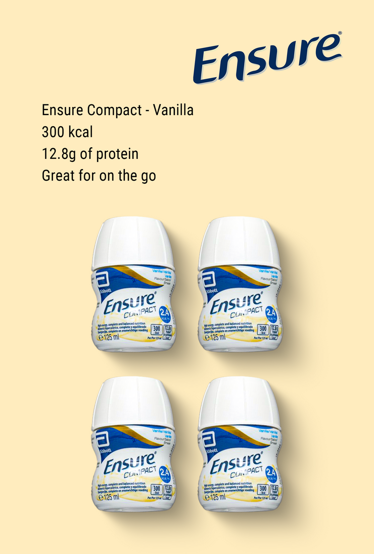 Ensure Compact Vanilla 4 x 125ml