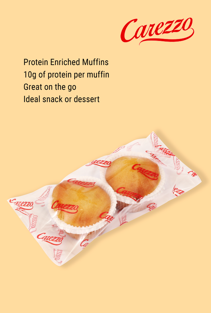 Carezzo Protein Enriched Muffins (Pack of 2)