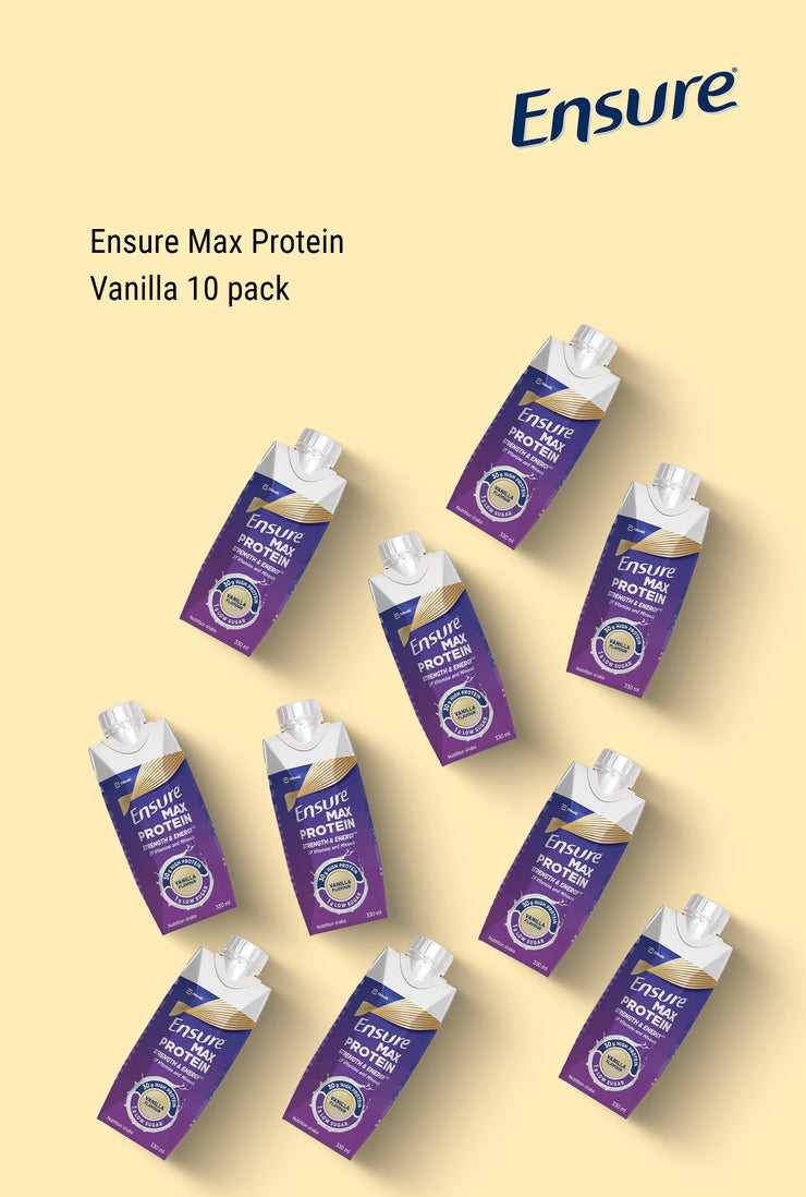 Ensure Max Protein Vanilla 10 Pack
