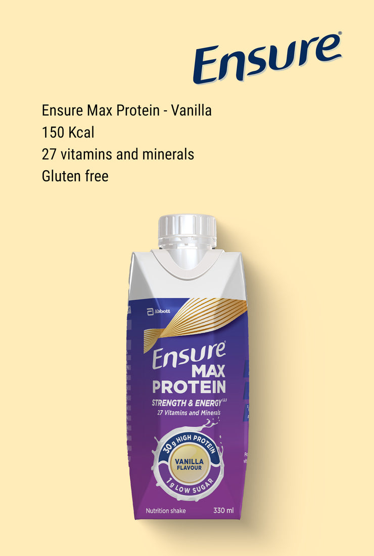 Ensure Max Protein Vanilla 330ml