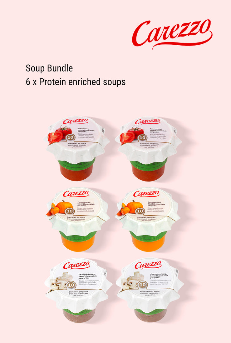 Carezzo Protein Enriched Soup Bundle
