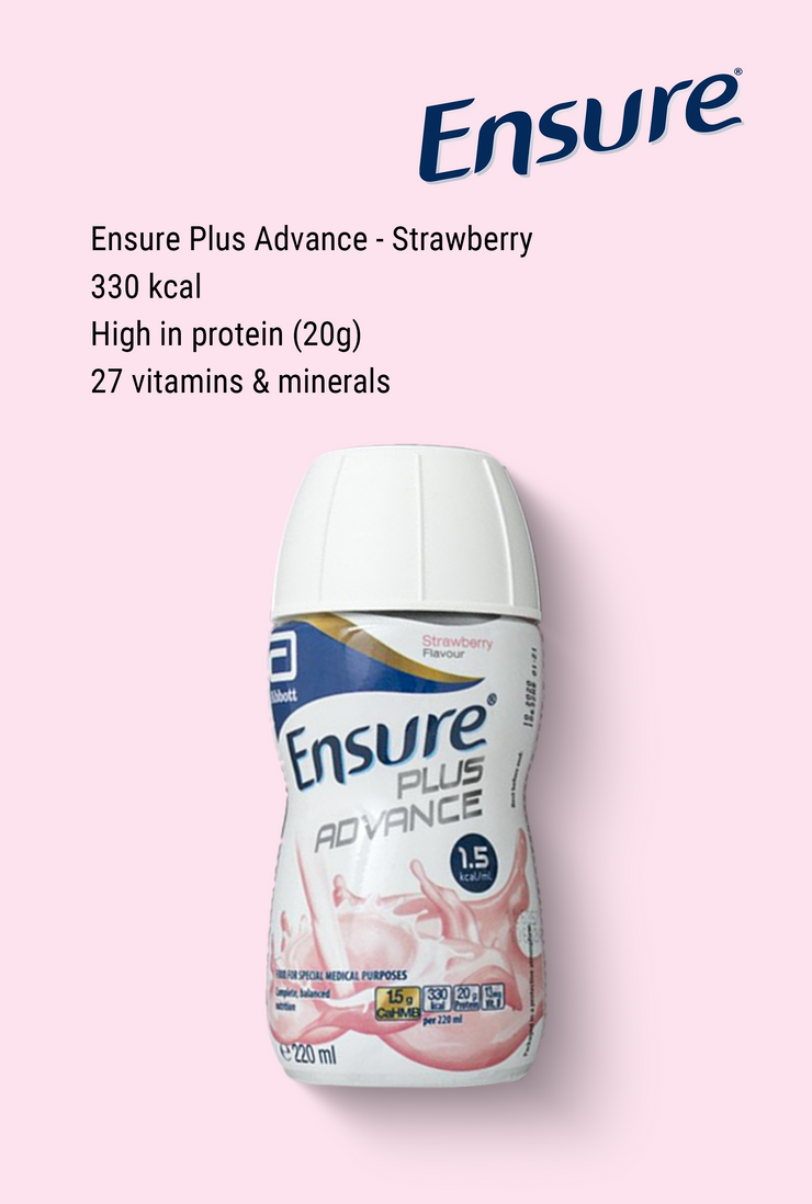 Ensure Plus Advance Strawberry 220ml