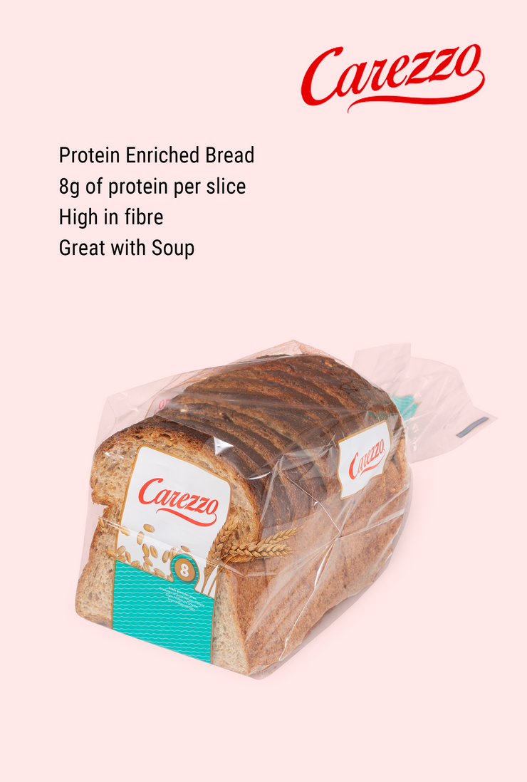 Carezzo Protein Enriched Whole Grain Bread