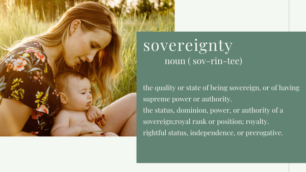 Sovereignty - Us and The Earth