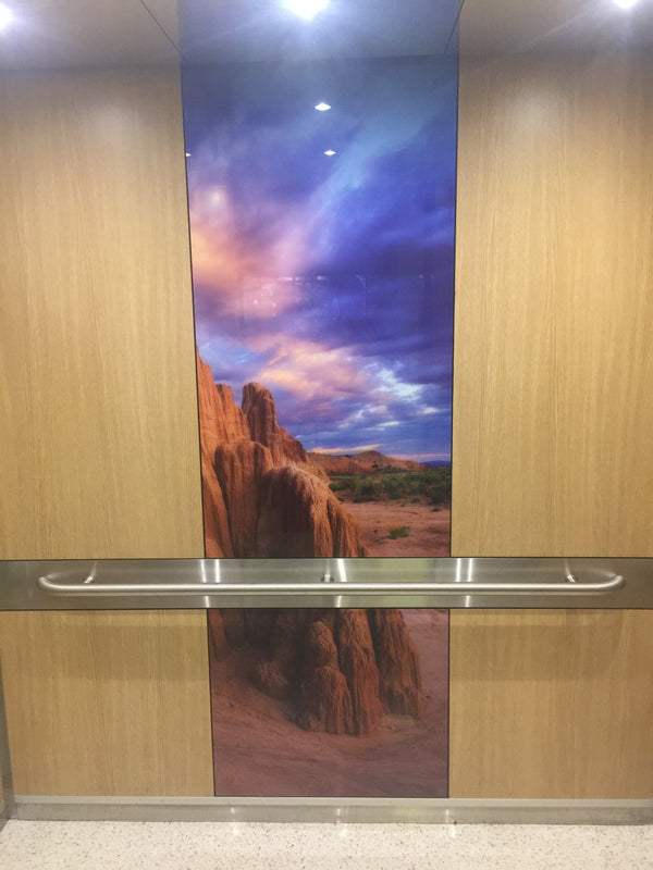 Dignity Health Care | SnapCab Elevator Interior
