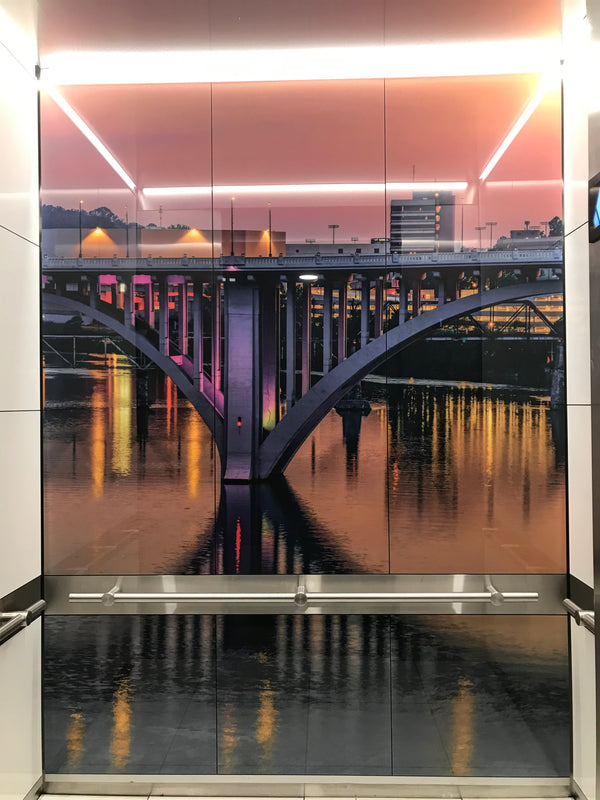 Embassy Suites - Knoxville | SnapCab Elevator Interior | Modified Corporate I