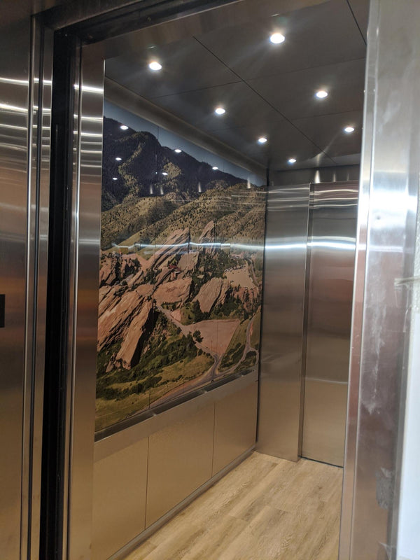 Red Rocks Amphitheater | SnapCab Elevator Interior | Modified Clarity