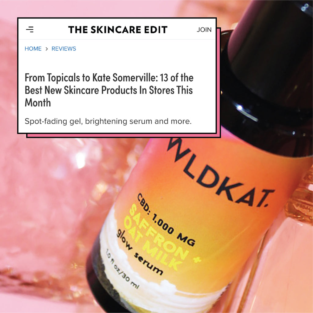 The Skincare Edit X WLDKAT