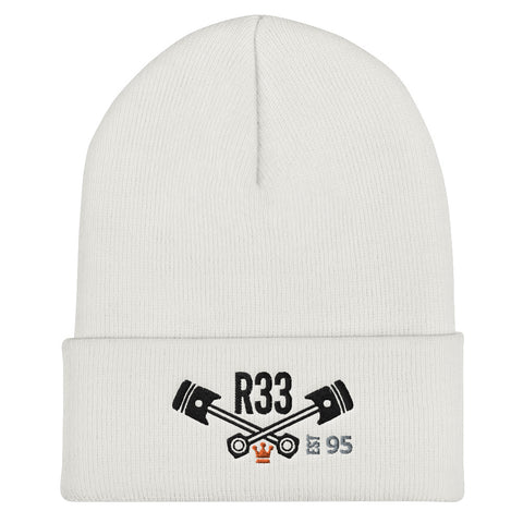 Chassis Code Series | Nissan Skyline R33 - Beanie