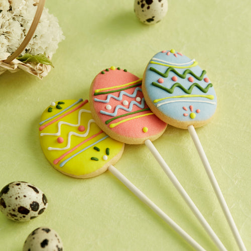 Easter Egg Cookies Lollipop