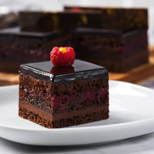 Load image into Gallery viewer, Chocolate & Raspberry cake