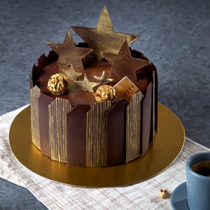 Charming Stars / Chocolate Celebration Cake