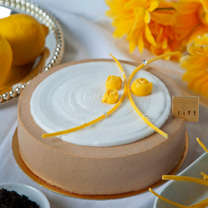 Earl Grey Mousse Cake