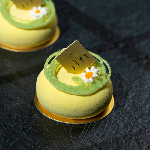 Pineapple Yoghurt Mousse Cake