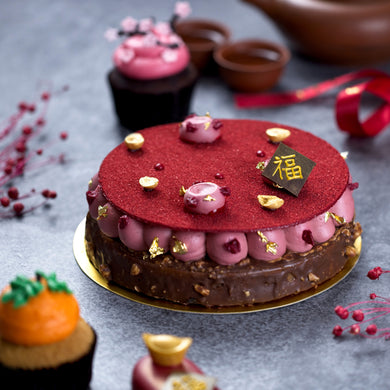 Raspberry and Chocolate Cake