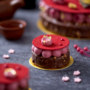 Raspberry & Chocolate Rocher