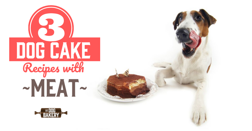3 Dog Cake Recipes With Meat