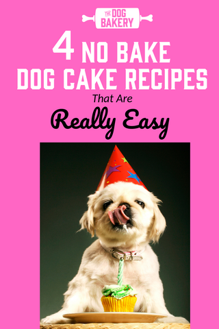 4 no bake dog cake recipes