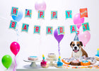 Happy Barkday Banner