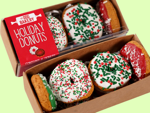 Holiday Donuts For Dogs