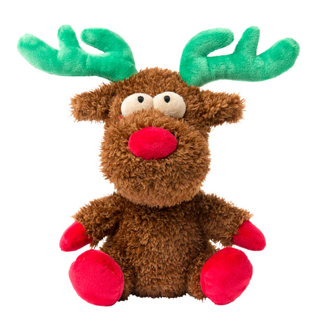 Rocky The Christmas Reindeer Dog Toy
