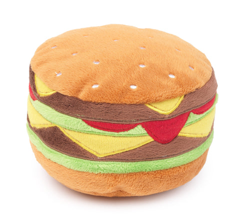 FuzzYard Hamburger Dog Toy